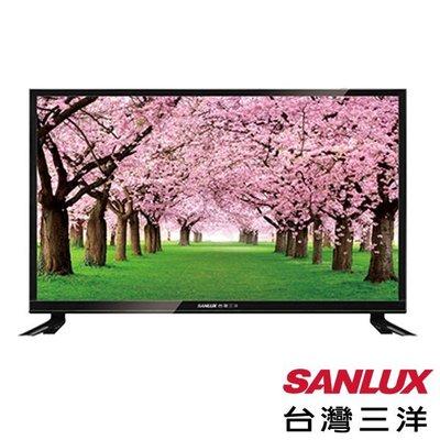 SANLUX台灣三洋 24吋 LED背光液晶電視+視訊盒 SMT-24MA3 全機保固3年