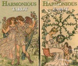 【牌的世界】和諧塔羅牌(迷你版加附中文說明) The Harmonious tarot