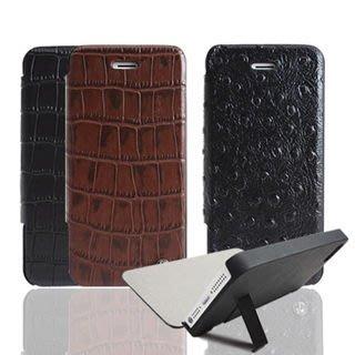 Lilycoco  iPhone 5 5S SE 保護殼 側掀皮套 3色 側翻 皮套 可站立 免掀通話 手機殼 保護殼