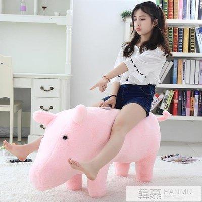 同款豬豬沙發抱枕毛絨玩具小豬座榻治愈玩具公仔禮物  YTL