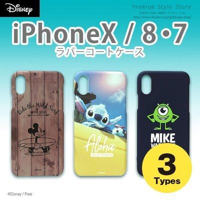 尼德斯Nydus 日本正版 迪士尼 米奇 史迪奇 大眼仔 硬殼 手機殼 4.7吋 iPhone8