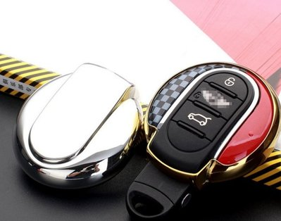 有車以後汽配~BMW寶馬迷你mini鑰匙包軟膠鑰匙包鑰匙外殼保護套one couper F55 F56