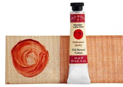 [台灣博聲提琴弦樂]進口Oldwood天然植物色膏 提琴油漆顏色 - 茜草紅 Madder lake