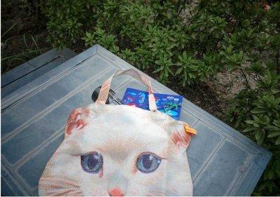 可愛貓米肩包-米