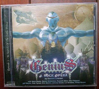 進口CD(無刮傷..義大利版)~Genius--Episode 2(In Search Of The Little Prince)專輯(A Rock Opera.附歌詞)
