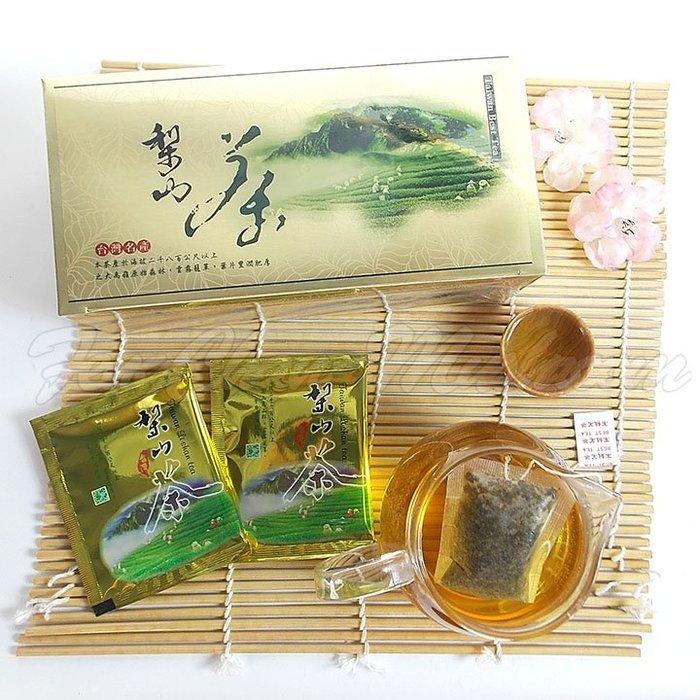 ~梨山茶(3g*30袋)~ 產於梨山高海拔之高山茶,清香淡雅,口感甘甜,熱泡、冷泡皆可。【豐產香菇行】