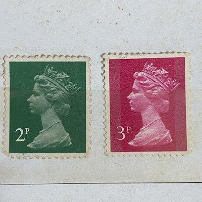 ❒倉庫大戰❒【1995: A stamp printed in England, Elizabeth II】伊麗莎白郵票