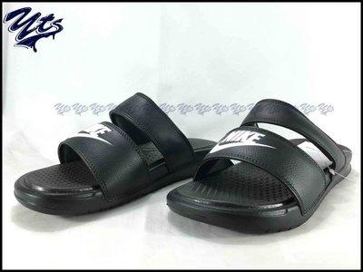@ NIKE BENASSI DUO ULTRA SLIDE 雙帶 黑白 涼鞋 拖鞋 女鞋 819717 010 YTS