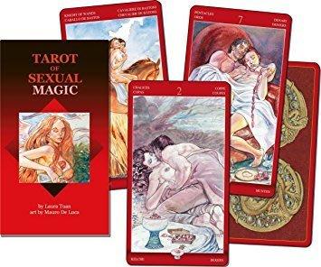 【預馨緣塔羅鋪】現貨正版性魔力塔羅牌Sexual Magic Tarot(全新正版78張)(附中文說明書)