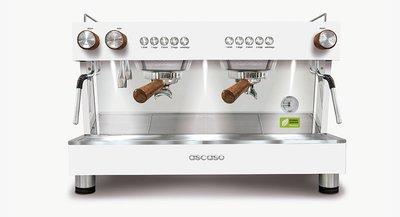 西班牙ASCASO BARISTA T Zero 2GR商用義式雙孔半自動咖啡機 優惠期間加贈全套配件組+磨豆機