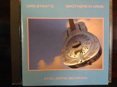 Dire Straits ~ Brothers In Arms - 手足情深,早期長條版美國版,稀有。