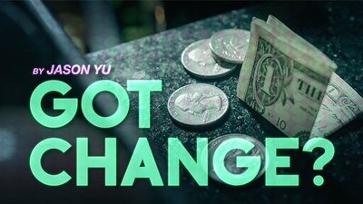 【天天魔法】【S887】正宗原廠~鈔票變零錢~Got Change? by Jason Yu