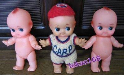 日本早期紅帽子的Q比娃娃 3 個入[ 新到貨 ]