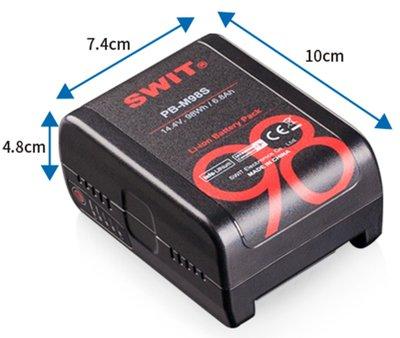 九晴天(租電源,租電池) SWIT PB-M98S 100W 口袋型V掛V口電池 出租