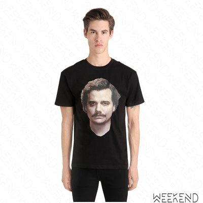 【WEEKEND】 IH NOM UH NIT 毒梟 Narcos Pablo Escobar T恤 黑色