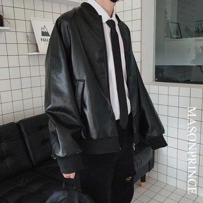 男裝外套皮衣秋裝韓版潮流男士帥氣春秋皮夾克秋季修身