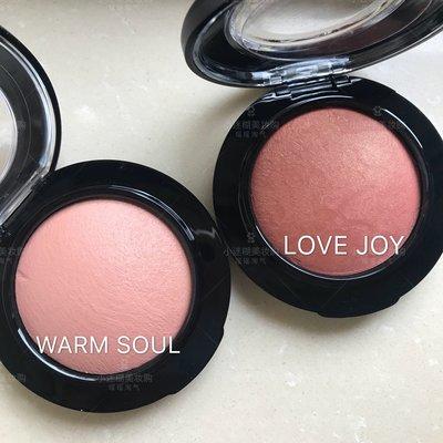 @卷卷彩妝MAC魅可腮紅/柔礦迷光腮紅  warm soul/love joy/Melba/peaches