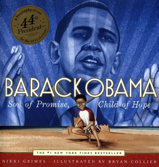 *小貝比的家*BARACK OBAMA:SON OF PROMISE, CHILD OF HOPE/平裝/7~12歲