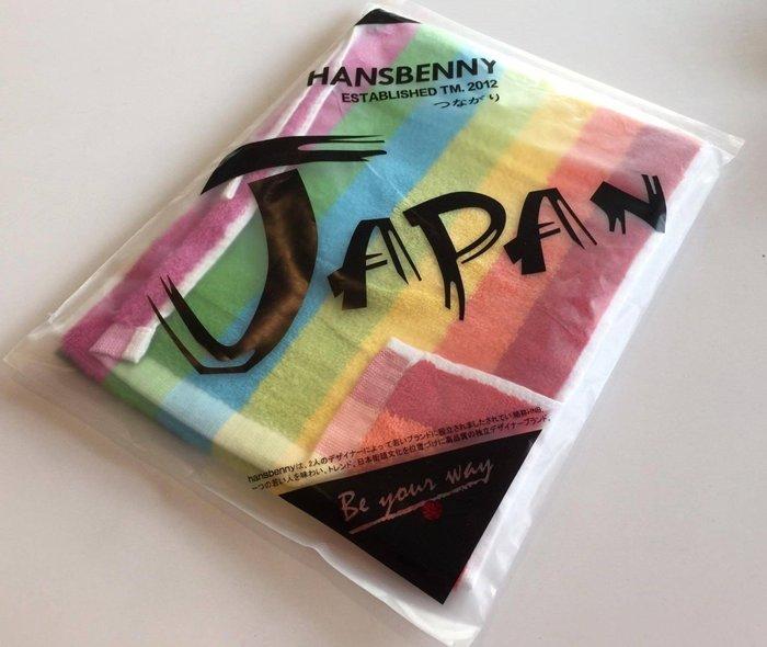 【OTOKO Men's Boutique】彩虹運動毛巾:彩虹色毛巾(七色) 原廠正品