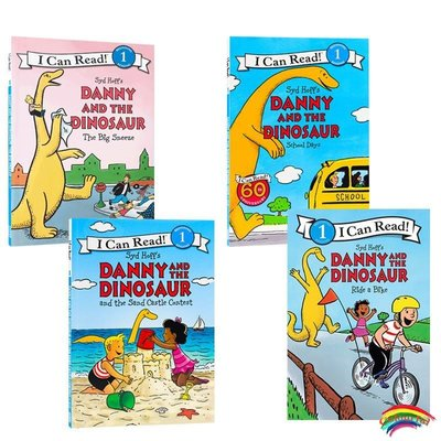 英文原版繪本 Danny and the Dinosaur丹尼和恐龍系列分級閱讀The Big Sneeze進口兒童啟蒙趣味圖書故事繪本3-6歲icanread