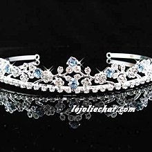 結婚飾物; 新娘飾物; 皇冠; 髮飾;頭飾;bridal accessories; wedding tiara; bridesmaid tiara #528B