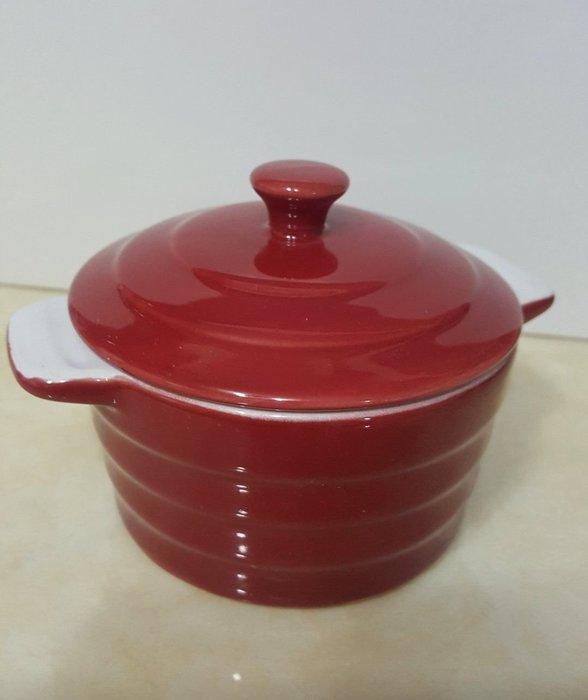 LB 帶蓋陶瓷烤碗 甜點烤盤 小碗 現貨