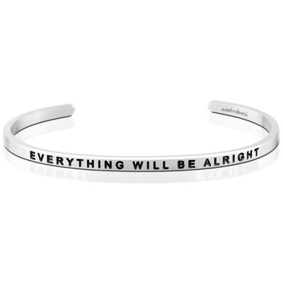 MANTRABAND Everything Will Be Alright 銀色 一切OK