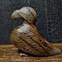 和闐玉雕◎   老玉鳥