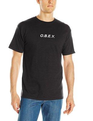 OBEY Branded Logo 短袖T恤 黑色【S】厚棉 美國潮牌 保證原廠正品 全新 現貨