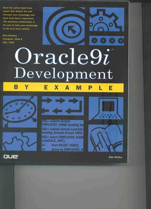 全新原文書 - Oracle 9i Development by Example