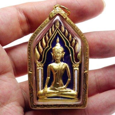 天然玉飾真品古玩載燕燕泰佛 龍達博納 2558 坤平 鍍金版本 帶手刻符