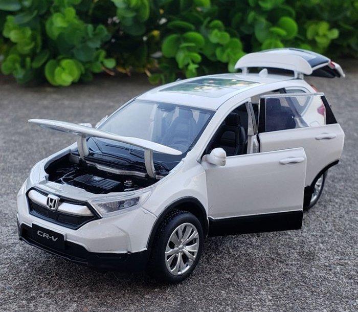 本田 HONDA CR-V 5代CRV 1:32 模型車 金屬迴力車 1/32