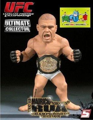 ☆阿Su倉庫☆WWE摔角 UFC終極格鬥 MAURICIO RUA ROUND 5 CHAMPIONSHIP EDITION SHOGUN冠軍限定版