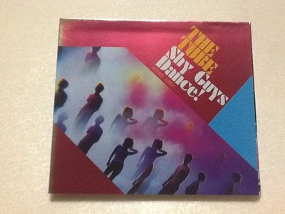~拉奇音樂~ THE TUBE 樂團  害羞男孩 跳舞吧!  二手保存良好。團。