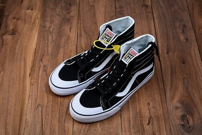 vans 帆布鞋 硫化品質 範斯Sk8-Hi 138 Decom 鮮美系列帆布半月包頭硫化高幫板鞋 萬斯爆款 男鞋 女鞋