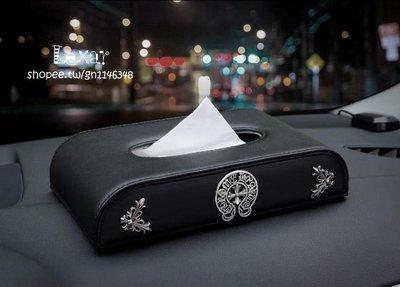 新款克羅心抽紙盒時尚創意高檔載儀表台座...