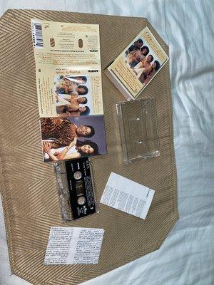 【李歐的音樂】ARISTA/BMG唱片190年代 惠妮休斯頓之等待夢醒時分電影原聲帶 錄音帶 下標就賣