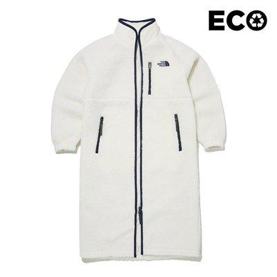 【Luxury】北臉LONG TEDDY EX COAT 毛絨大衣 長版 冬天 加厚 中長款 TNF