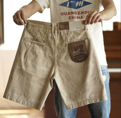【時尚潮流購物】美日 RIFF ROCK 重磅水洗染色純棉短褲 M022 RICK OWENS WHITE Y-3