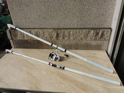 源自日本 師出同門 破盤價 正3號 磯釣竿  日本輕硬碳布 CARBON 磯釣 海釣   海攻磯 15尺 450cm