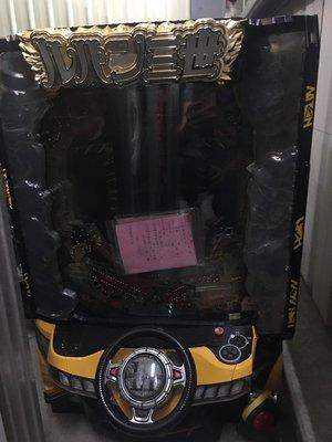 柯先生日本原裝機台2015年 CR魯邦三世 動漫電玩迷超珍藏開車方向盤超酷炫小鋼珠柏青哥PUB工作室布置打造個人遊戲房間