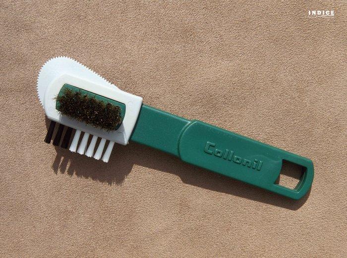 INDiCE ↗ Collonil『基礎護理系列』Combi Brush 多功能麂皮清潔護理專用刷 德國製