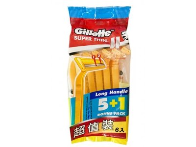 【B2百貨】 吉列超值輕便刀6刀架 7702018017386 【藍鳥百貨有限公司】