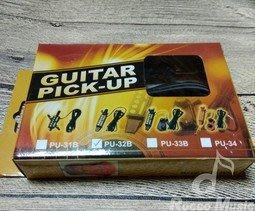 【羅可音樂工作室】GUITAR PICK-UP PU-32B 木吉他拾音器 台灣製