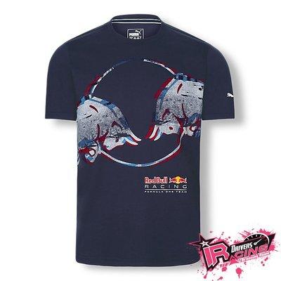 ♚賽車手的試衣間♚ Red Bull Tilt 18 T-shirt Puma 紅牛 F1 車隊 短袖T恤 藍色