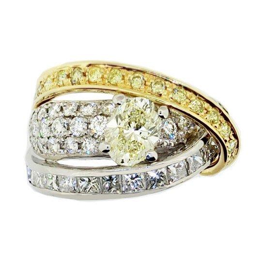 【JHT金宏總珠寶/GIA鑽石專賣】1.009ct天然鑽石戒指/材質:PT900/18K(JB41-A32)