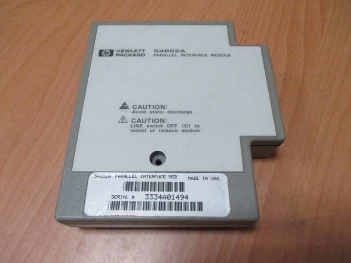 康榮科技二手儀器領導廠商HP 54652A Parallel I/O module for 54600 Series
