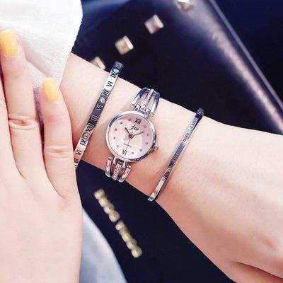 奇奇店#法國小眾設計手表女學生星空系列...