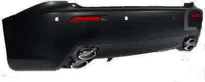 ☆小傑車燈☆LEXUS凌志IS250 IS-F ISF F-SPORT後保桿全配備含4出排氣管 空力套件