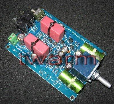 《德源科技》r)LG112A 英國NAC 42.5 CLONE 單端前級板 每級都採用了單端設計